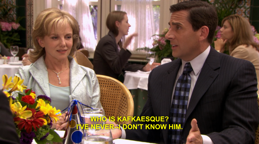 michael scott kafkaesque