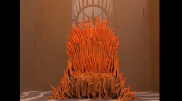 """Really Bored Guy Creates Awesome """"Game Of Thrones"""" Inspired Throne For His Rabbit With Carrots"""