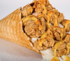Houston Astros Serving Fried Chicken Like Ice Cream, In A Waffle Cone. What?