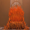 "Really Bored Guy Creates Awesome ""Game Of Thrones"" Inspired Throne For His Rabbit With Carrots"
