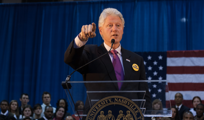 Bill Clinton Admits To Power Move, Only Sent Two Emails In His Life