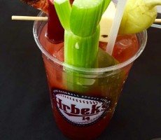 Minnesota Twins Offering A Bloody Mary Topped With Slice of Pizza For Some Reason