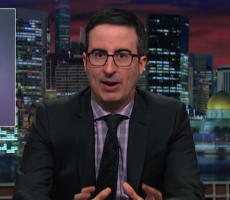 Watch John Oliver's Passionate Plea To End April Fools' Day