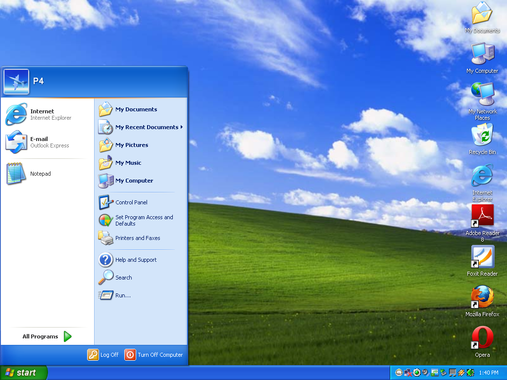 Desktop Icons Are Big On Windows XP - A