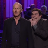 Michael Keaton's SNL Monologue Hijacked By Cast Members Demanding Batman and Beetlejuice