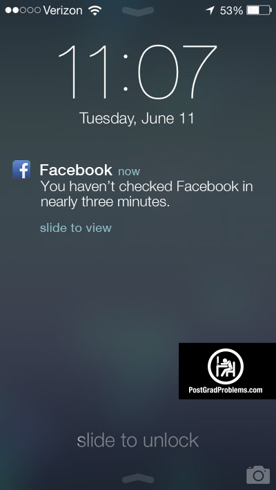 Realistic Facebook Mobile Alerts