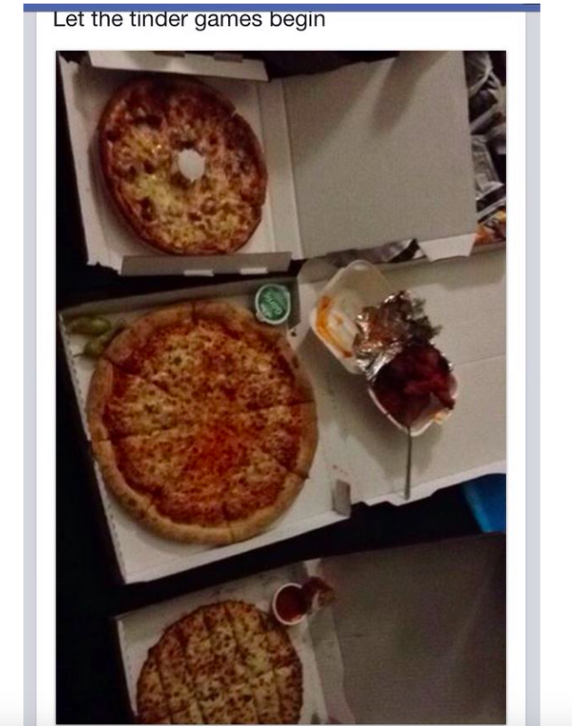 Girls Getting Guys on Tinder To Send Them Free Pizza Is Hilarious and Depressing At The Same Time
