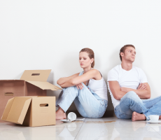 The 9 Stages of Moving