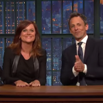 Amy Poehler Makes Fantastic Surprise Appearance For 'Really?!' Reunion With Seth Meyers