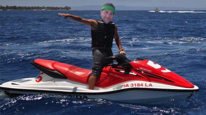 My Dream Job Is To Be A Jet Ski Rental Guy Down In The Caribbean