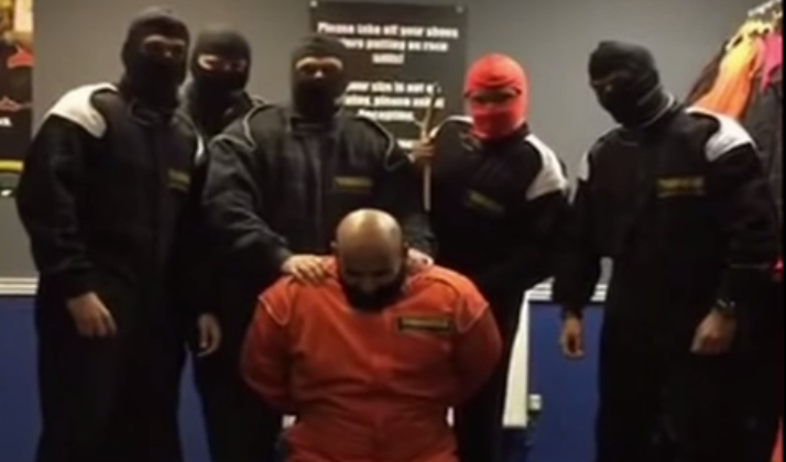 HSBC Employees Find Out That A Mock Beheading Is A Poor Team Building Exercise