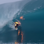 Check Out This Absolute Psycho Who Lit Himself On Fire While Surfing