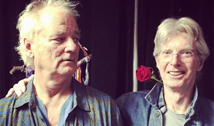 Bill Murray Shows Up To Golf Tourney In Same Clothes He Wore To Grateful Dead On Sunday