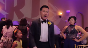 Wedding Couple Forces Guests To Partake In A Reception Music Video, Makes Me Vomit
