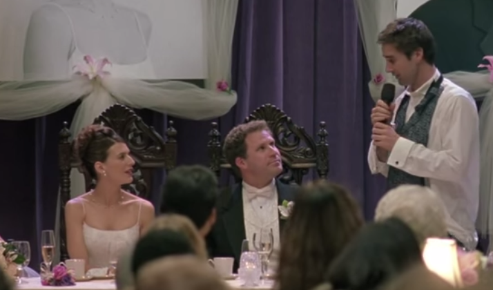 The Inner Monologue Of A Groom During The Best Man's Speech