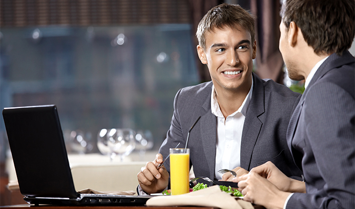 Dependable Coworker Seeks Consistent Lunch Partner