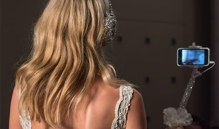 The World Is Ending Because Bedazzled Bridal Selfie Sticks Are A Thing Now