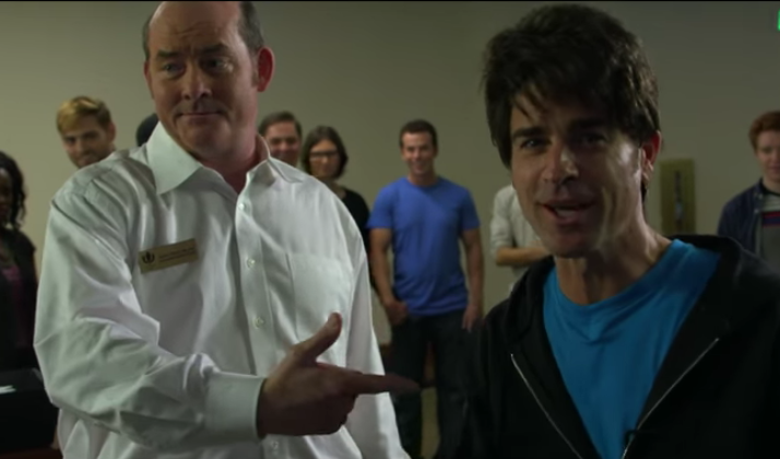 Justin Theroux And Jimmy Kimmel Unveil Fantastic Parody Film Of The UConn Mac And Cheese Kid