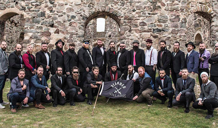Woman Called The Cops On A Swedish Beard Club Because She Thought They Were ISIS