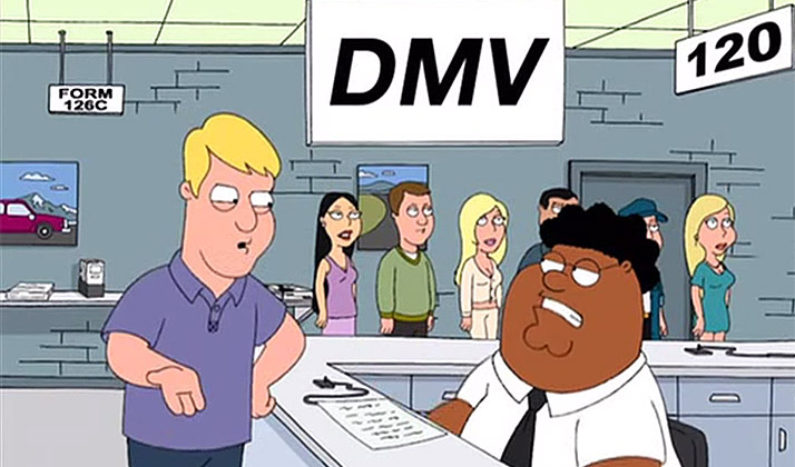 The DMV Is My Own Personal Hell