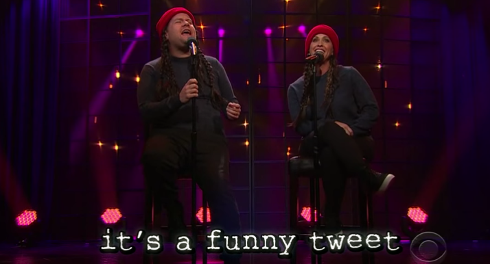 "Alanis Morissette And James Corden Remade ""Ironic"" for 2015 And Pretty Much Nailed It"