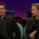 "Watch Rob Lowe And David Spade Share Chris Farley ""Tommy Boy"" Stories With James Corden"