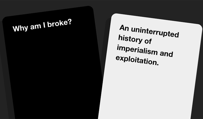 Cards Against Humanity Sold Nothing On Black Friday And Made Enough To Cover Your Student Loan Debt