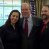 Watch George W. Bush Surprise A Group Of Veterans Today In Dallas