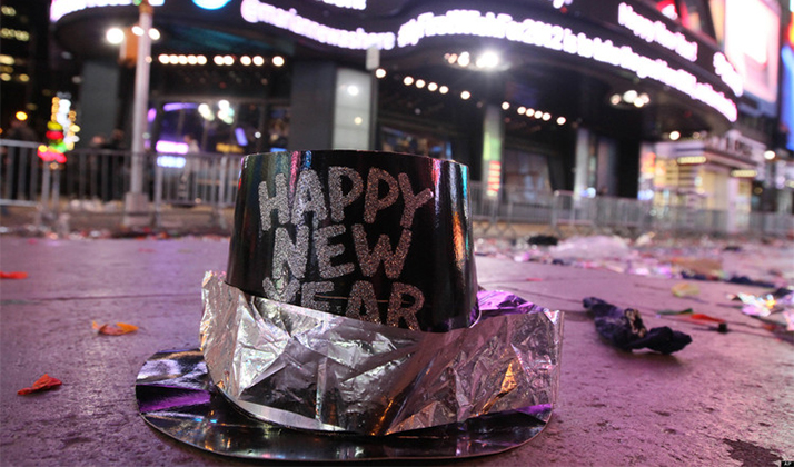 Then Vs. Now: New Year's Eve