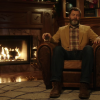 Here's 45 Entrancing Minutes Of Nick Offerman Drinking Scotch Next To A Ripping Fire
