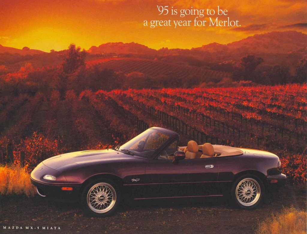 How Can You Look At This 1995 Miata Ad And Not Buy One Immediately?