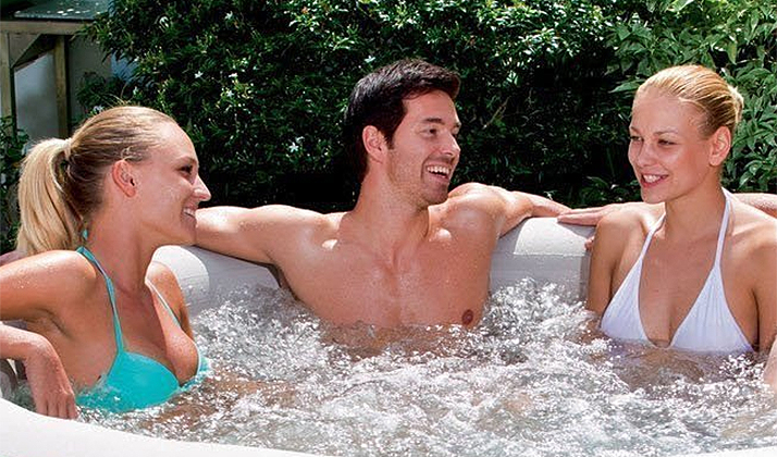 Spend Your Christmas Bonus On A Hot Tub And Start Really Living