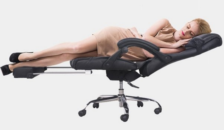How Do You Not Purchase This Office Chair You Can Nap In?