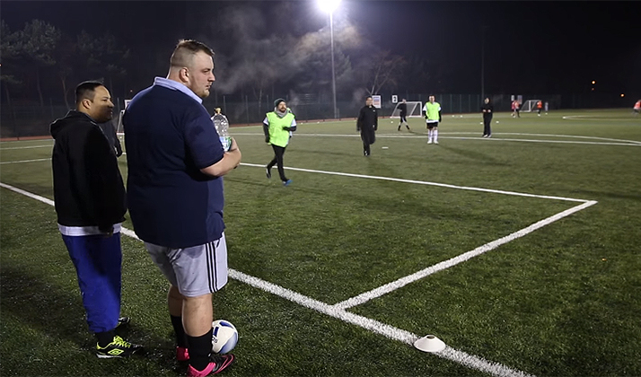 There's A Soccer League In England Just For Fat Dudes And It's Fantastic
