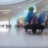 These Dudes Terrorized A Mall By Doing A Real-Life Mario Kart Race