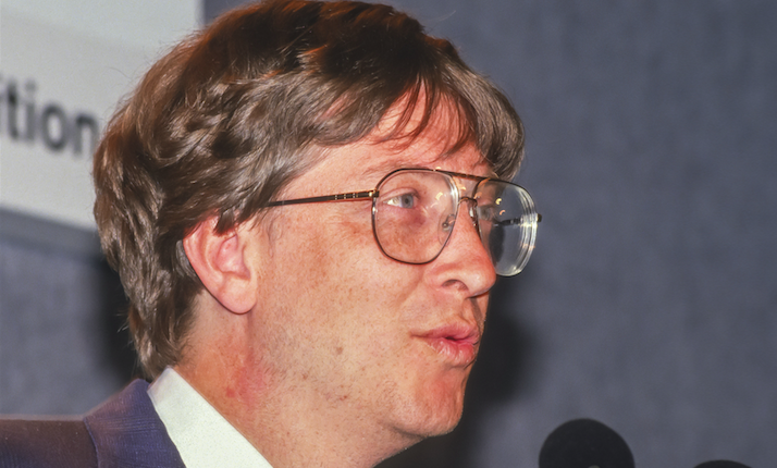 Is It Weird That Bill Gates Used To Memorize Employees' License Plates To Track Them?