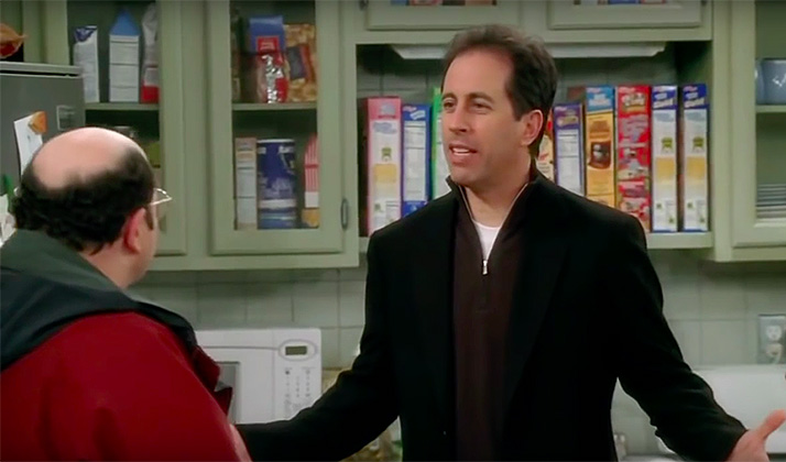 "Here's A 9-Minute ""Seinfeld"" Reunion Episode Based On Scenes From ""Curb Your Enthusiasm"""