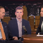 Peyton Manning Explained Eli Manning's Dumb Look At The Super Bowl To Jimmy Fallon Last Night