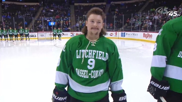 UPDATE: All The Hair Is In From The Minnesota State Hockey Tournament, And It's Glorious
