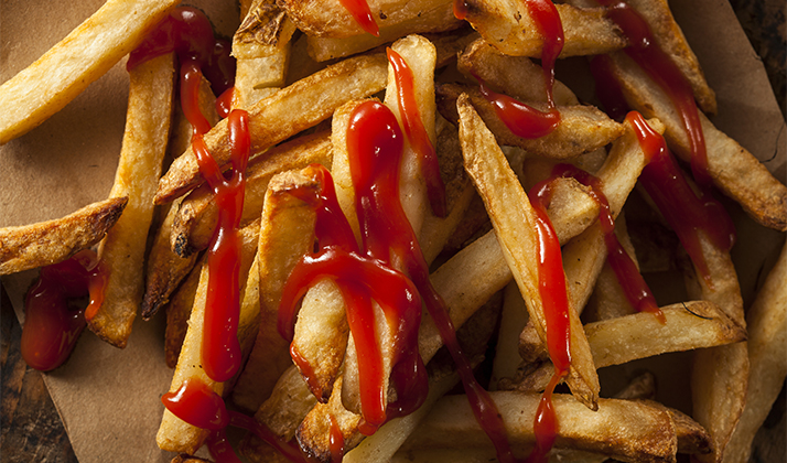 Only Slobs Put Ketchup Directly On Their Fries, And Other Food Conundrums