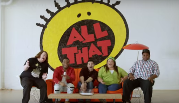 Nickelodeon Is Really Going For It With An 'All That' Reunion And A 'Legends Of The Hidden Temple' Movie