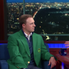Watch Jordan Spieth Take Some Swings With Colbert Because It's Jordan And He's Awesome