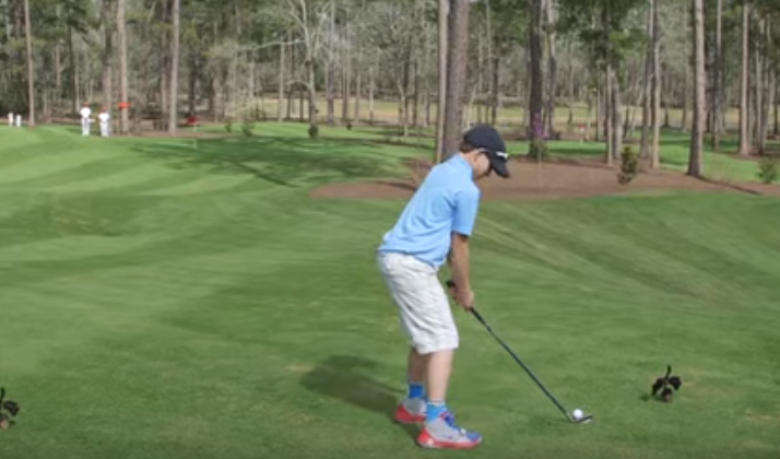 An 11-Year-Old Golf Stud Made A Hole-In-One Right In Front Of Tiger