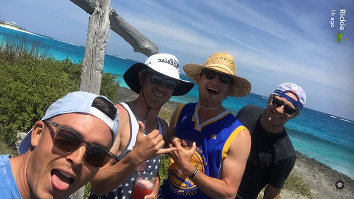 Ranking The Golfers From Rickie Fowler And Friends' Legendary Vacation Snapchat Story