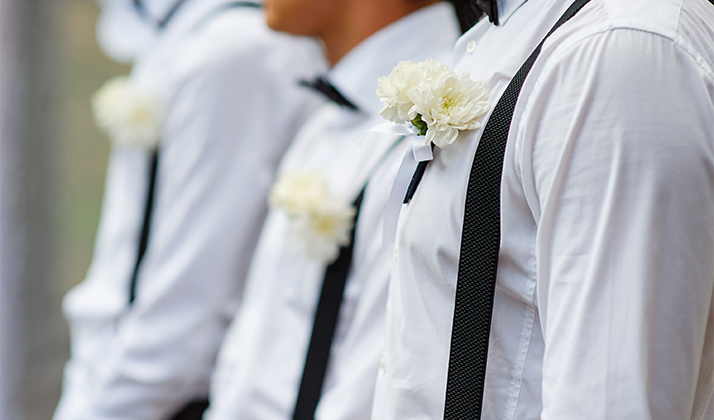 Turns Out That Groomsmen Spend More On Weddings Than Bridesmaids