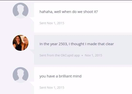 That Time I Was Asked To Do Porn On OKCupid