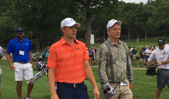 Spieth & Bill Murray Are Paired Up At The Colonial Pro-Am, Possibly The Best Twosome Ever