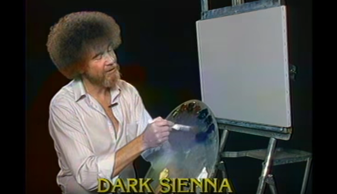 I Can't Stop Watching Bob Ross Painting On Netflix