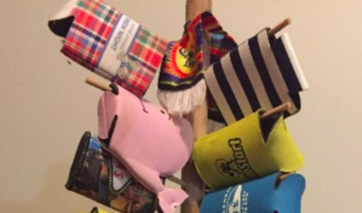 How To Build Your Own Koozie Tree