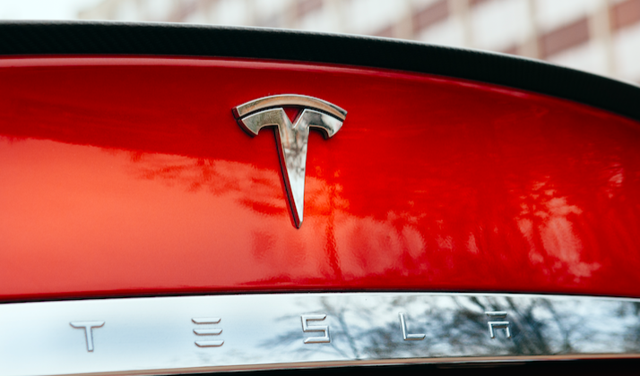 Underlings Show Appreciation For Boss By Buying Him A Tesla